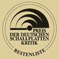 Logo vom Preis der Deutschen Schallplatten Kritik - Bestenliste